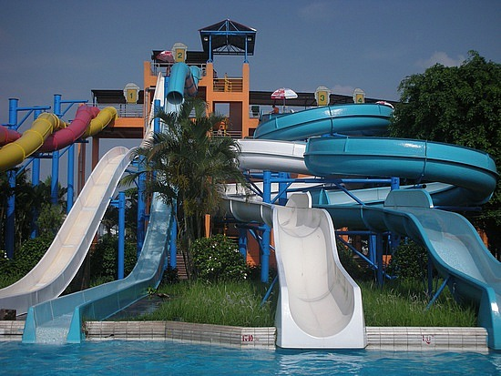 Beat the heat at Hanoi's water park